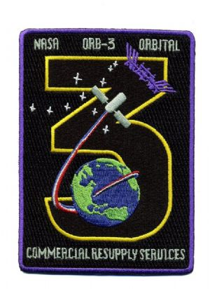 CRS Orbital 3 Mission Patch